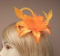 Orange Hair Flower